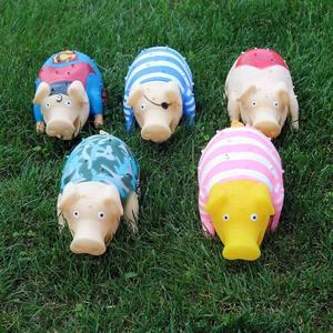 慘叫豬玩具 發聲 橡膠尖叫哼哼豬整蠱發泄大號會叫的豬絕望豬