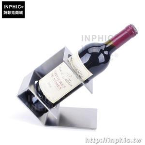 INPHIC-酒架紅酒架歐式葡萄酒架炮形不鏽鋼酒架擺件酒櫃弓形紅酒酒架_fchM
