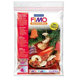 施德樓FIMO軟陶 ACCESSORIES MS8742 35 圖案壓模組-聖誕飾品