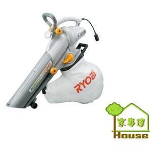 { 家事達 } 日本品牌RYOBI~1500型  手持式 大口徑 電動 吹風機.吹葉機(吸葉機)可吸吹兩用 特價