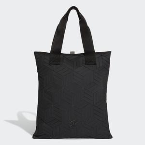 Adidas ORIGINALS 3D SHOPPER BAG 三宅一生 手提袋 購物袋 側背 休閒 黑 【運動世界】DY2969