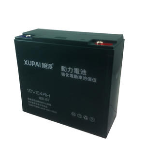 旭派 XUPAI 12V 24Ah (6-DZM-20) 鉛酸電池 電動車 代步車 電池【康騏電動車】