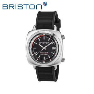 BRISTON 手錶 原廠總代理  17642-S-D-1-RB  黑色 時尚矽膠運動機械錶 男女 生日情人節禮物
