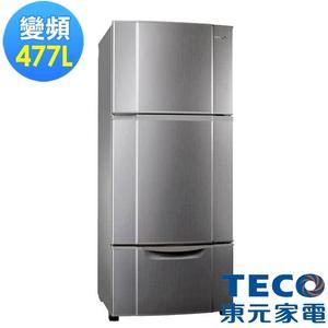 東元477L變頻三門冰箱R4765VXLH