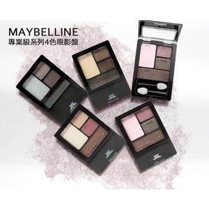 【彤彤小舖】美國 Maybelline Expert Wear 專業四色眼影盤系列 4.8g 原裝平行進口