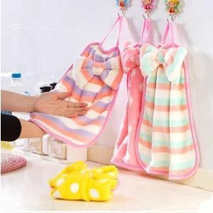 擦手巾 珊瑚絨可掛式擦手巾 廚房毛巾 抹布【G042】