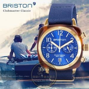 BRISTON法國精品時尚品牌Clubmaster Classic軍風前衛設計腕錶15140.PYA.T.9.NNB公司