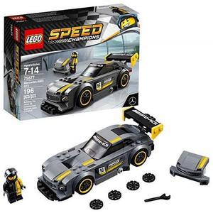 LEGO 樂高 Speed Champions 6175226 Mercedes-Amg Gt3 75877 Building Kit (196 Piece), Multi