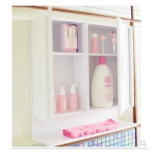 免打孔防水置物架掛牆式簡易壁掛收納儲物櫃