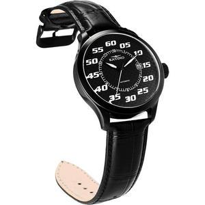 KATINO 奔馳系列碳纖維腕錶-黑 K5735DBL