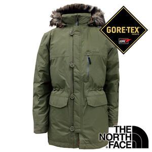 【THE NORTH FACE 美國】男單件式Gore-Tex防風防水保暖外套  橄欖綠 NF0A35BJ 羽絨外套