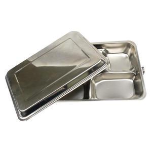 【蝴蝶牌】#304(18-8)不銹鋼高蓋五格餐盒
