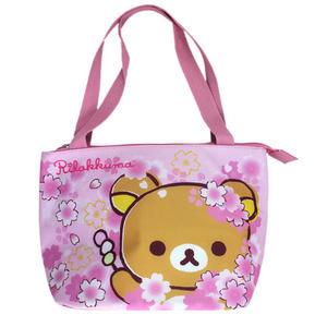 【卡漫城】 拉拉熊 保溫袋 櫻花 ㊣版 懶懶熊 Rilakkuma 保冷袋 便當袋 手提袋 水餃包 餐袋 購物袋