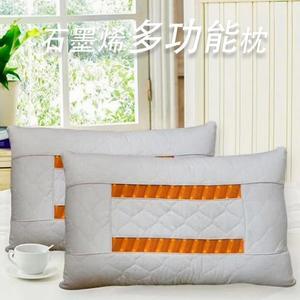 派樂 石墨烯健康枕(1顆)石墨烯多功能枕 枕頭 枕頭芯 軟硬適中好睡枕心 通過安全檢測 遠紅外線