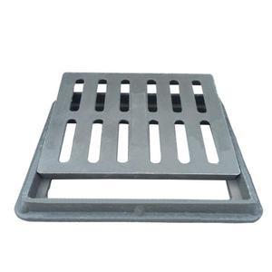 水溝蓋 樹脂復合窨井蓋篦子雨水口塑料廚房陰溝蓋排水溝下水道250*350*30T 1色