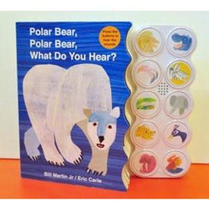 【麥克書店】POLAR BEAR POLAR BEAR WHAT DO YOU HEAR /聲音操作書