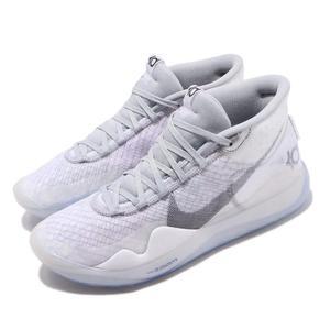 Nike 籃球鞋 Zoom KD12 NRG EP 灰 白 男鞋 運動鞋 Kevin Durant 【PUMP306】 CK1197-101