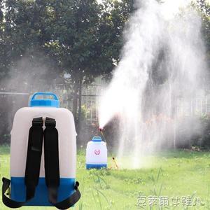 充電式噴霧器果園農用大棚電動噴霧機高壓打藥機多功能噴頭鋰電池 MKS 免運