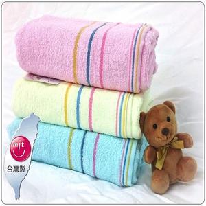 純棉浴巾 特價薄浴巾 吸水快乾純棉浴巾 重7兩 台灣製造【老婆當家】
