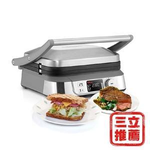 【美國Cuisinart 美膳雅】多功能燒烤機GR-5NTW-電電購