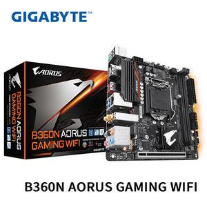 GIGABYTE 技嘉 B360N AORUS GAMING WIFI 1151腳位 Mini-ITX 主機板