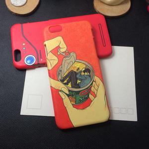 iPhone手機殼 搞怪殼。 重慶森林罐頭泡麵 磨砂硬殼 蘋果iPhone7/iPhone6/iPhone5