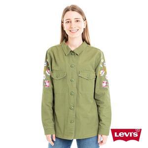Levis 襯衫 女裝 / 花卉刺繡