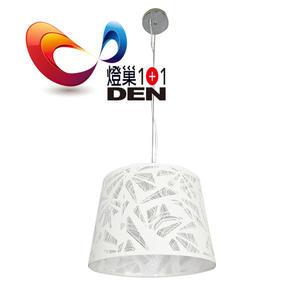 【燈巢1+1】燈具。燈飾。Led居家照明。桌立燈。工廠直營批發  萊曼金屬雕花雙燈吊燈  02064086