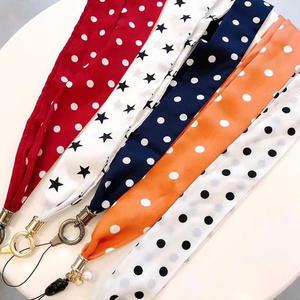 波點絲巾掛繩 手機掛繩 通用掛繩 絲巾掛繩 掛脖繩 手機吊繩 頸掛繩 吊飾