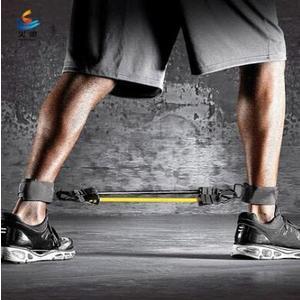 練踢爆發力拉力腿部籃球彈跳訓練器阻力繩yhs1695【123休閒館】