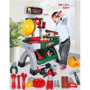 *粉粉寶貝玩具*寶寶仿真維修修理工具台~小小工程師維修工具台玩具組