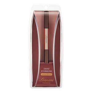 蕾亞娜尼Leanani Premium 4in1 3way 立體完美眉筆-自然咖