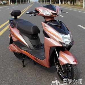 電動車 電動車迅鷹雙人兩輪踏板電摩托車72V男女助力成人高速 DF巴黎衣櫃