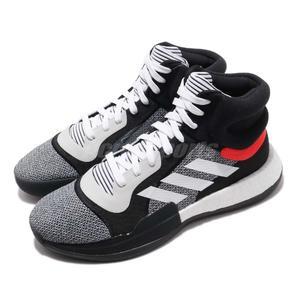 adidas 籃球鞋 Marquee Boost 黑 白 BOOST中底 John Wall 男鞋 運動鞋【PUMP306】 BB7822