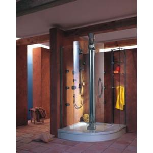 【麗室衛浴】  德國  HUPPE  頂級豪宅配備  MAGNA 5000 圓弧型淋浴拉門