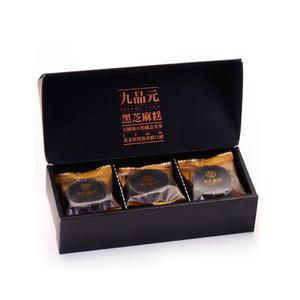 【九品元】頂級黑芝麻糕(9入/盒)