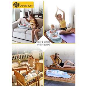 Beeshum便攜式嬰兒床床中床防壓多功能可摺疊新生寶寶床嬰兒床兒  ATF 『極有家』