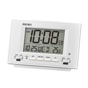 SEIKO 精工 鬧掛鐘專賣店 QHL075W SEIKO 多功能電子鬧鐘 貪睡鬧鐘 溫度顯示