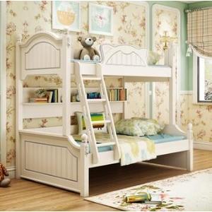 高低床上下床雙層床女孩公主床實木子母床多功能兒童上下床母子床【免運】