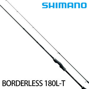漁拓釣具 SHIMANO BORDERLESS 180L-T (防波堤萬用竿)