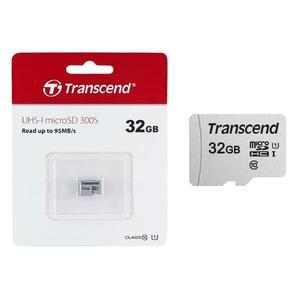 【原廠公司貨】創見 32GB Micro SD 300S 記憶卡 SDHC U1 C10 TF 32G 小卡