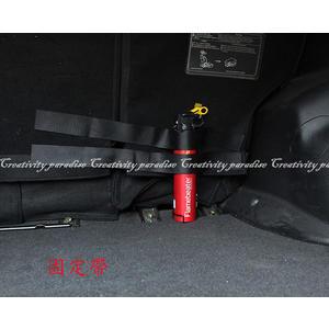 【魔鬼氈固定帶】汽車用後車廂工具收納綁帶 車載行李箱滅火器黏貼式魔術貼條