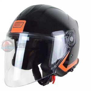 [中壢安信]義大利 ORIGINE 帕力歐 PALIO FLOW 黑橘 雙鏡片 半罩 3/4罩 安全帽