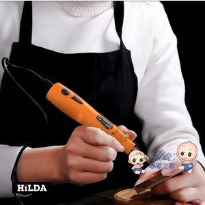 雕刻筆 電磨機小型手持木雕玉石拋光雕刻工具微型打磨機電動筆迷你小電鑽
