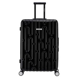 【CENTURION百夫長】拉鍊款26吋U_H_ARN斯德哥爾摩黑行李箱