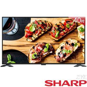 《送壁掛架及安裝》SHARP夏普 40吋2T-C40AE1T Full HD智慧聯網液晶電視