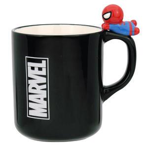 復仇者聯盟蜘蛛人馬克杯 立體造型把手陶瓷馬克杯260ml/杯緣子馬克杯/陶瓷杯 [喜愛屋]