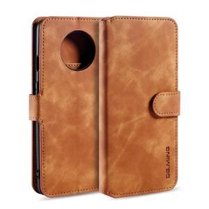 OnePlus 6T 7 7 Pro 7T 復古皮革帶卡槽錢包款手機套 翻蓋手機殼