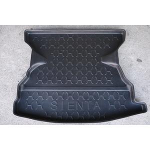 台灣製 周邊加高型 2016 豐田 SIENTA 五人 專用防水托盤 密合度高 防水材質 後廂墊