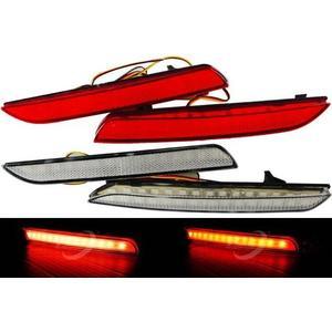 NEW FIT專用 LED保桿燈 後保燈 煞車燈 第三煞車燈 白殼 紅殼